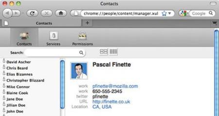 Mozilla integra todos nuestros contactos en Firefox con una extensión experimental