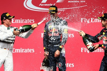 Daniel Ricciardo rompe la hegemonía de Mercedes AMG