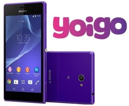 Precios Sony Xperia M2 con Yoigo y comparativa con Vodafone y Orange