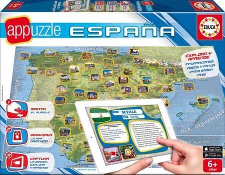 La colección AppPuzzle de Educa combina puzzles y tecnología