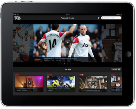 El Apple TV podría abrirse a eventos en directo de Disney ESPN