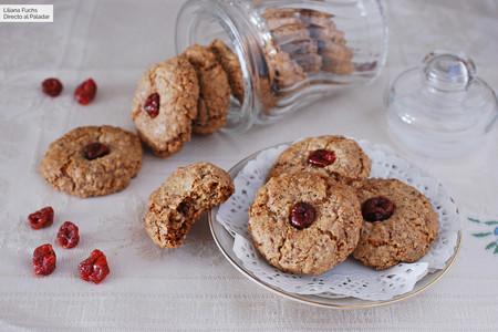 Receta de galletas de nuez: crujientes pastas sin gluten y sin lactosa