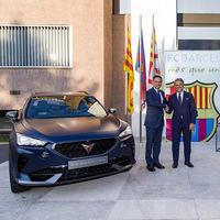 CUPRA se convierte oficialmente en el nuevo patrocinador del FC Barcelona