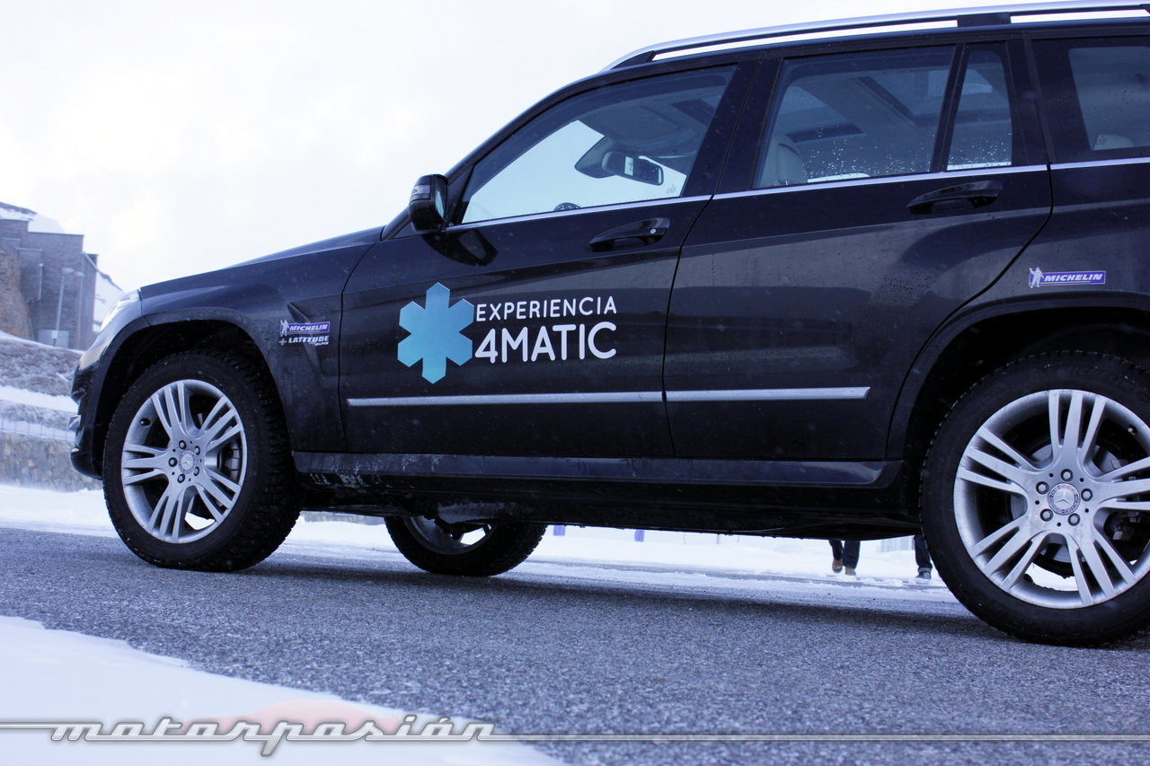 Foto de Michelin Pilot Alpin y Michelin Latitude Alpin, Experiencia 4Matic (10/27)