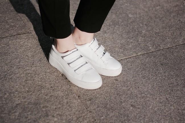 zapatillas adidas mujer velcro