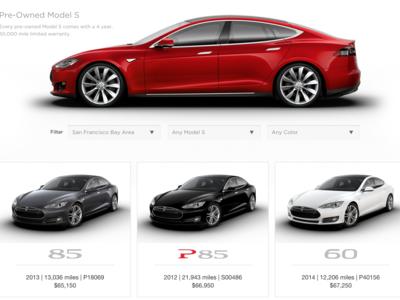 ¿Un Tesla Model S de ocasión? Elon Musk quiere controlar el mercado y monta una tienda en la red