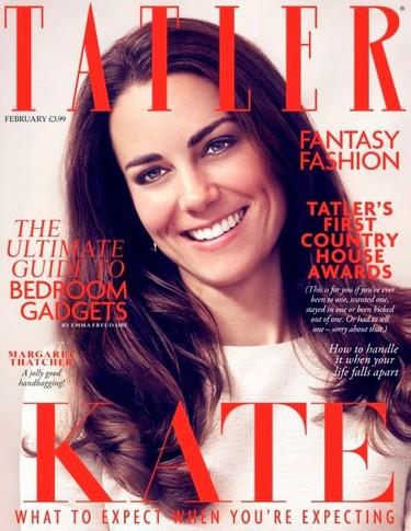 Portadas de Kate Middleton que dan mucho miedo