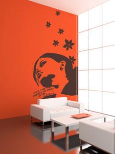 Flor4u, decora tus paredes con vinilos