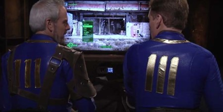 Conan O'Brien juega Fallout 4 con resultados increíbles