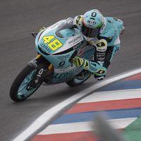 Lorenzo Dalla Porta se lleva la primera pole de su vida en Moto3 por tan solo 4 milésimas sobre Suzuki