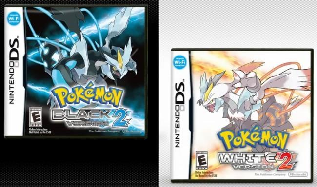 'Pokémon Edición Negra 2' y 'Pokémon Edición Blanca 2'