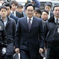 El heredero de Samsung, Lee Jae-yong, es sentenciado de nuevo a dos años y medio de prisión