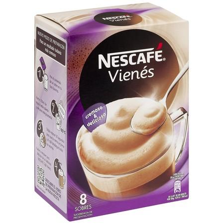 Sólo hoy en Amazon:  6 paquetes de 8 sobres de Nescafé Cappuccino vienés por 12,38 euros