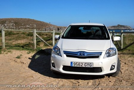 Toyota Auris HSD, prueba (exterior e interior)