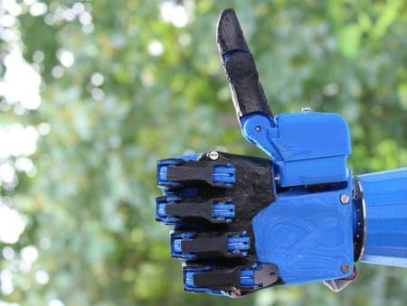 Proyecto abierto permite a las personas imprimir sus propias prótesis de manos en 3D
