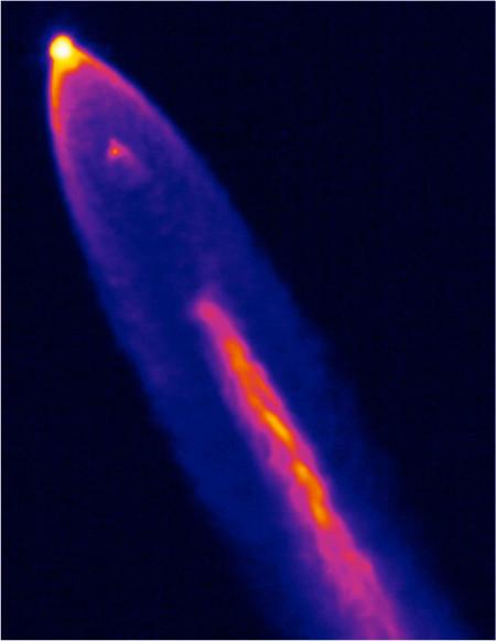 NASA WB-57 thermal capture