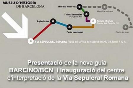 Guía Urbana Barcino/BCN, la historia romana de Barcelona