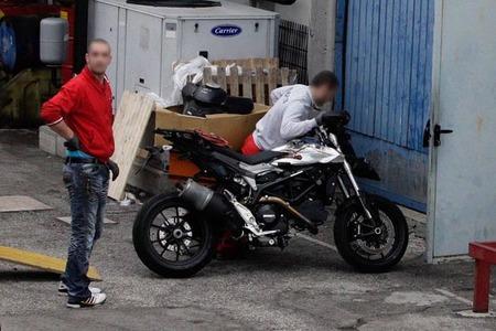 Foto espía Ducati Hypermotard 848