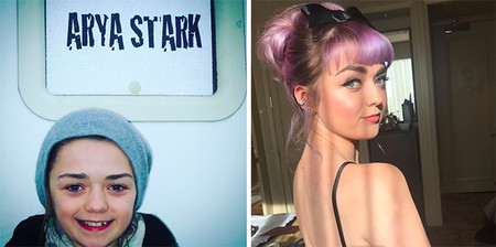 Maisie Williams Arya Stark Evolucion Juego De Tronos