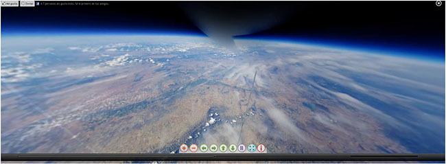 Vídeo esférico - globo de helio