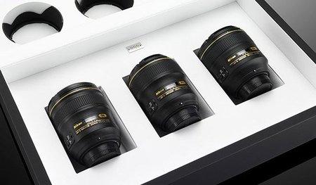 Triple set Nikon f/1.4, en edición especial