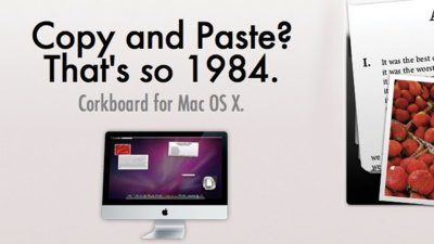 Corkboard, alternativa vitaminada al portapapeles de Mac OS X