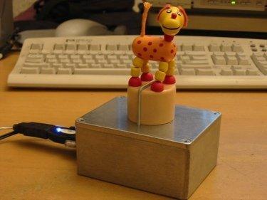 Push Puppet Toy, ¿está tu contacto conectado?