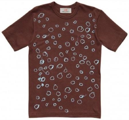 H&M Commes des Garçons camiseta