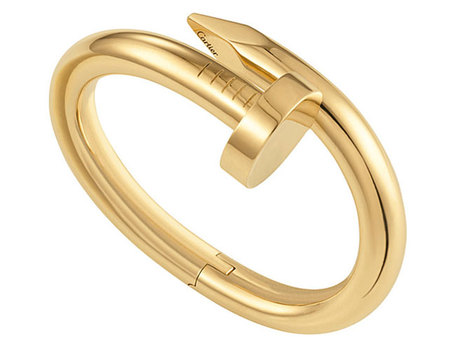 Cartier brazalete Juste un Clou oro amarillo