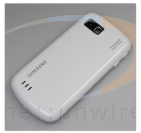 Samsung i7500 Galaxy, ahora en blanco