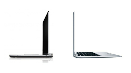 Dell Adamo vs. MacBook Air, eligiendo diseño