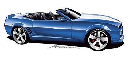 ¿Chevrolet Camaro Concept Convertible?