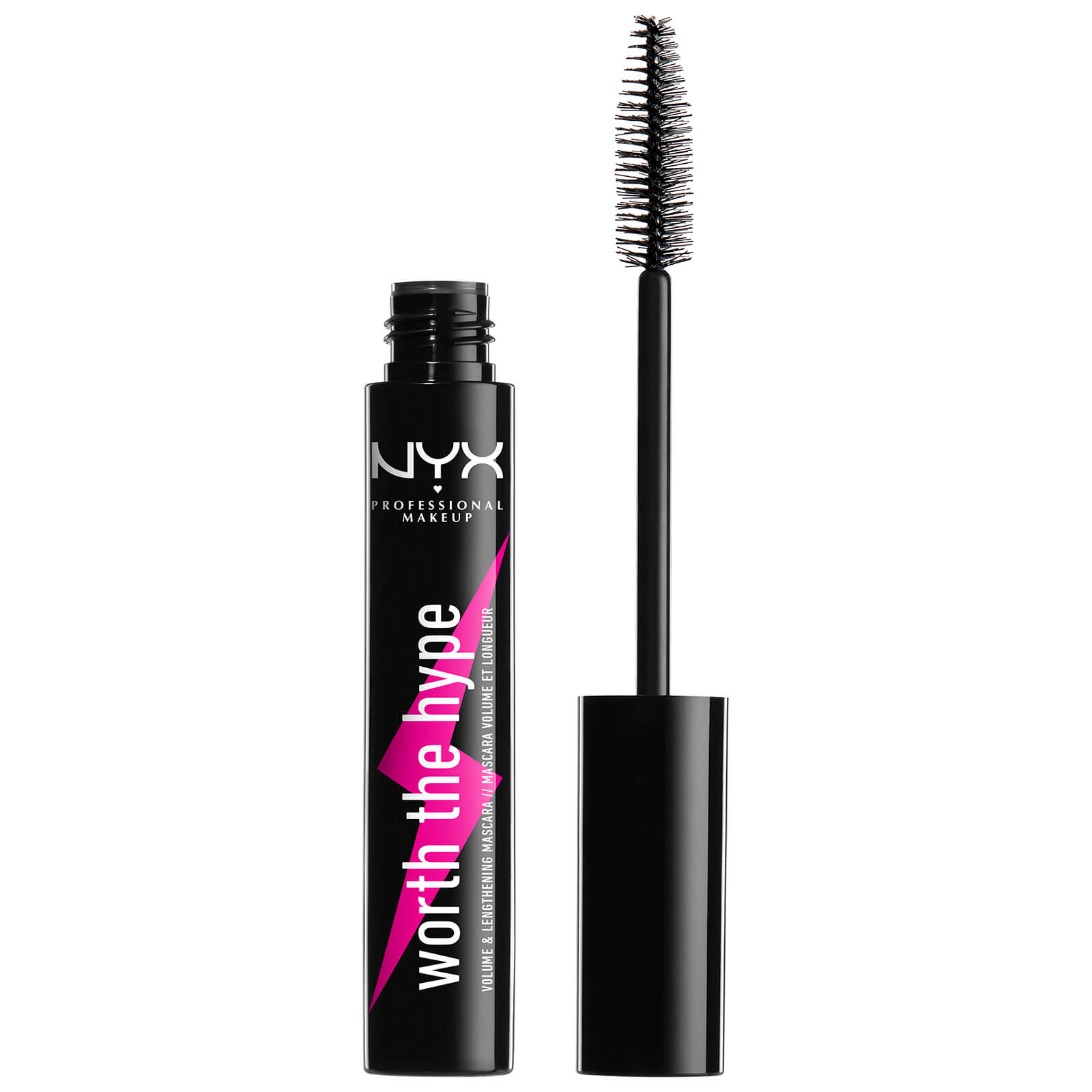 Máscara de pestañas Worth the Hype Volumizing Mascara NYX