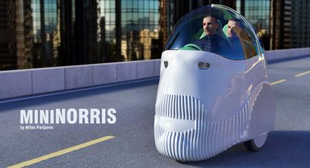 MiniNorris, un poco de humor aplicado a los concept cars