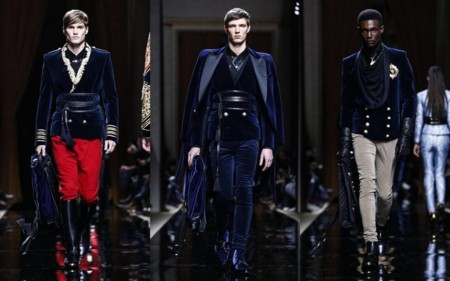 Balmain Otono Invierno Paris Fashion Week 2016 2017 2