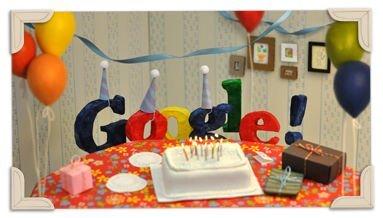 Google cumple 13 años