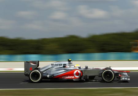 McLaren marca la pauta durante los entrenamientos libres del Gran Premio de Hungría