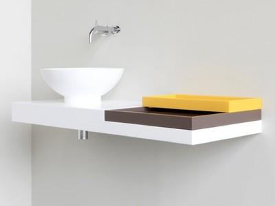 NotOnlyWhite, detalles que dan un toque de color a tu baño