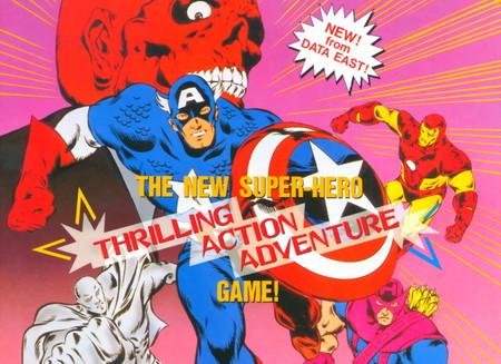 "Retroanálisis de Captain America and The Avengers, el primer clásico del ""capi"" con Los Vengadores a cargo del estudio Data East"