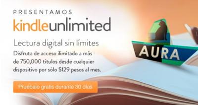 Kindle Unlimited, el servicio de libros por suscripción de Amazon llega a México