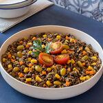 Ensalada de arroz salvaje, receta fácil para el táper del trabajo y mucho más