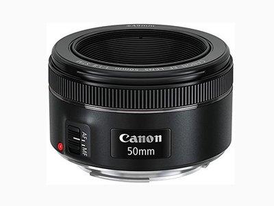 Objetivo EF 50mm f1.8 STM de Canon, rebajado a 114 euros en Amazon
