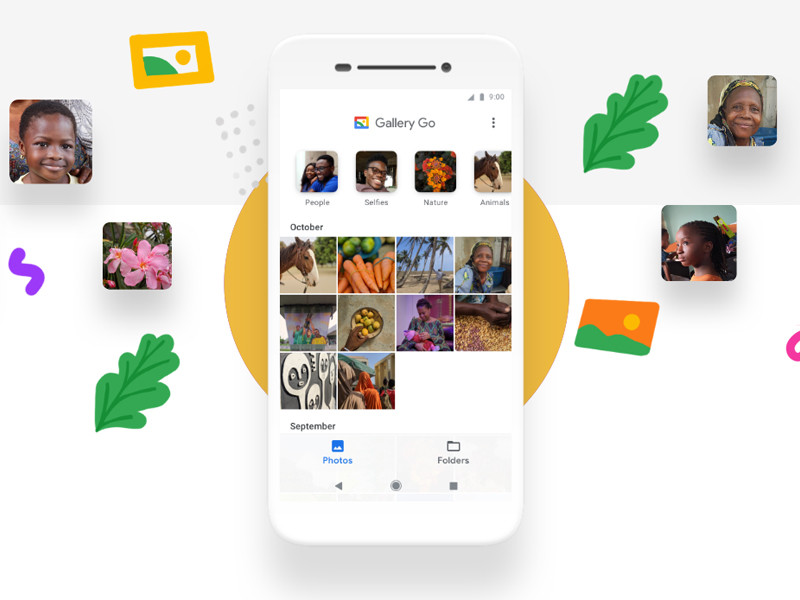 Google launches Gallery Go, an app gallery that weighs 10 MB and orders the images automatically