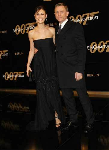 Premiere de Quantum of Solace en Berlín