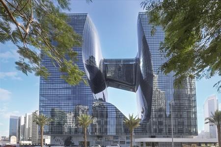 El hotel Me Dubai, legado póstumo de Zaha Hadid, abrirá sus puertas el 1 de marzo