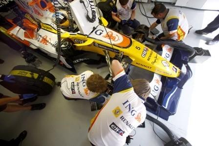 Fernando Alonso habla sobre los cambios para 2009