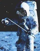 Nunca mejor dicho, poner una pelota de golf en órbita