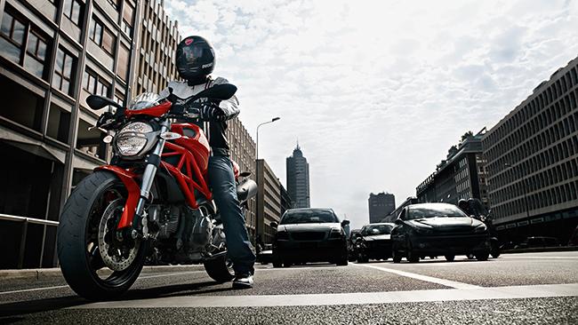 Carril moto Barcelona