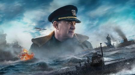 'Greyhound: Enemigos bajo el mar': Tom Hanks mantiene a flote una épica naval de Apple TV+ que necesita el impacto del cine