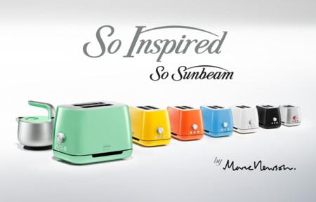 La cocina del futuro se viste con la colección de Marc Newson x Sunbeam
